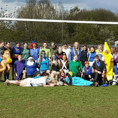 Ladies Fancy Dress Match Raises £1600+ for Cancer Charity!