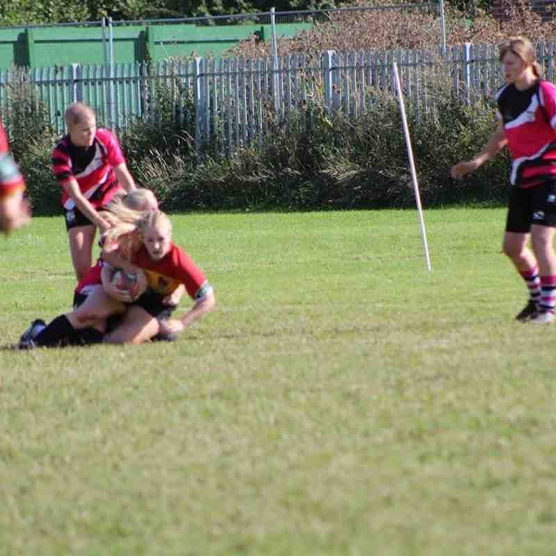 Ashfield Ladies vs Hull Ladies September 2016