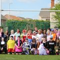 Ashfield Ladies are superheroes – raising thousands for charity whilst they play!