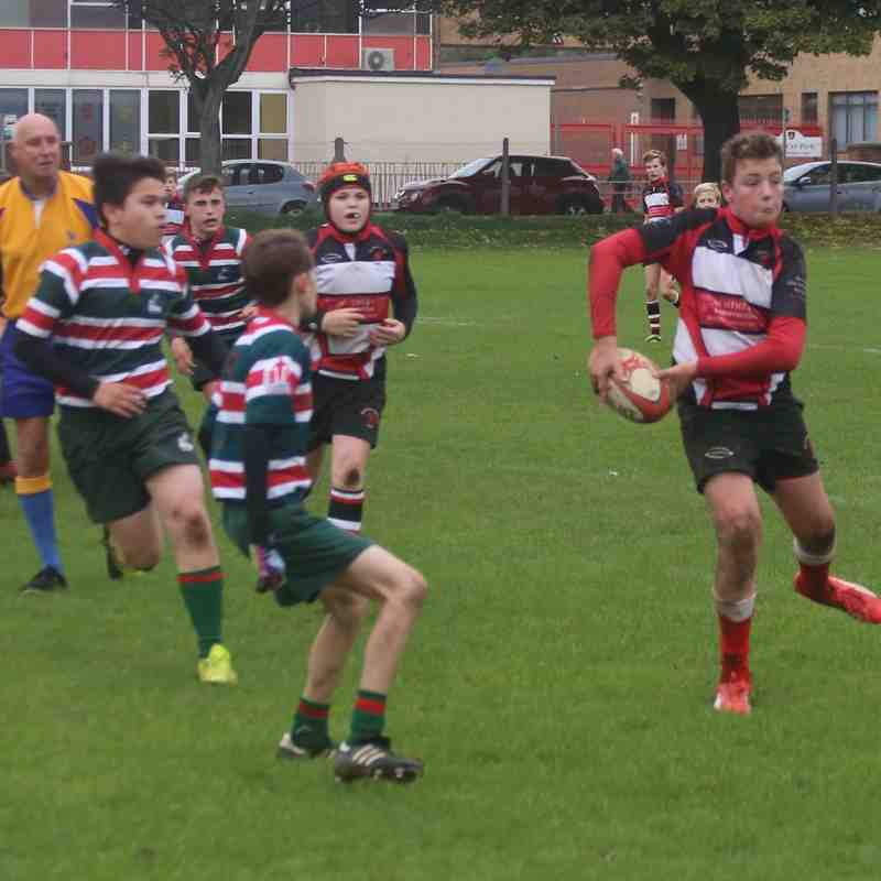 U13's vs West Hartlepool Oct 18, 2015