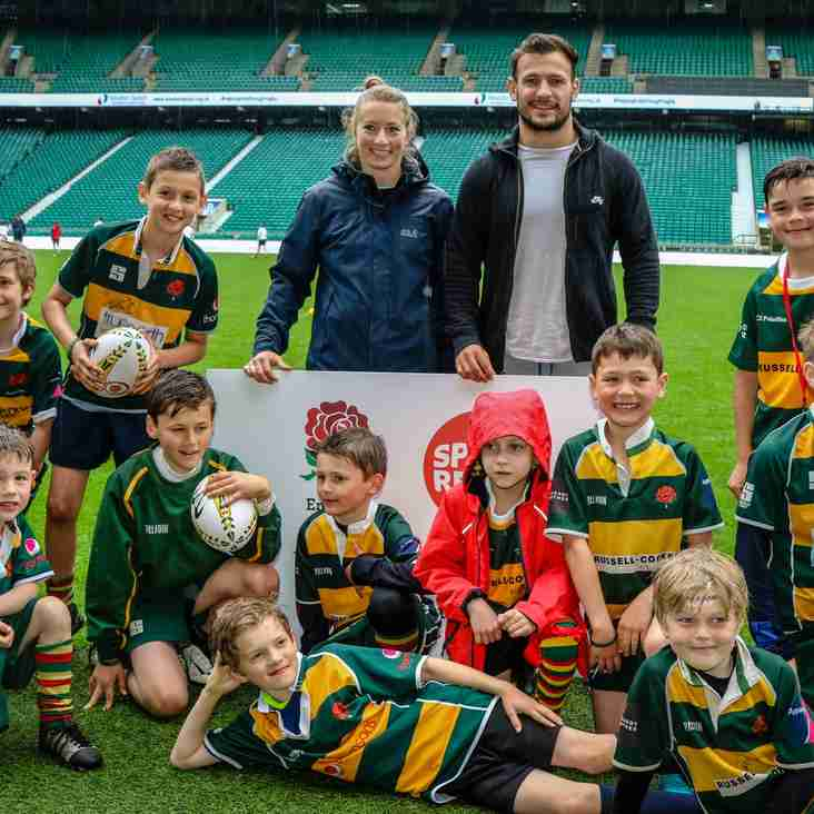Barnes RFC Minis and Juniors take  Twickenham by storm!