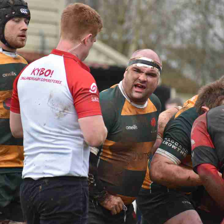 Barnes again went so close but yet so far last weekend as they went down against Old Redcliffians 23-15