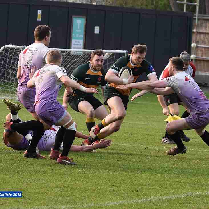 Barnes failed to hold on for the win against Clifton going down 15-22 at Barn Elms last week