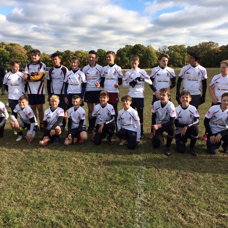 Old Elthamians vs Sidcup Under 13's