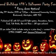 HALLOWEEN PARTY AT THE COMMUNITY CENTRE, FRIDAY 31ST OCTOBER