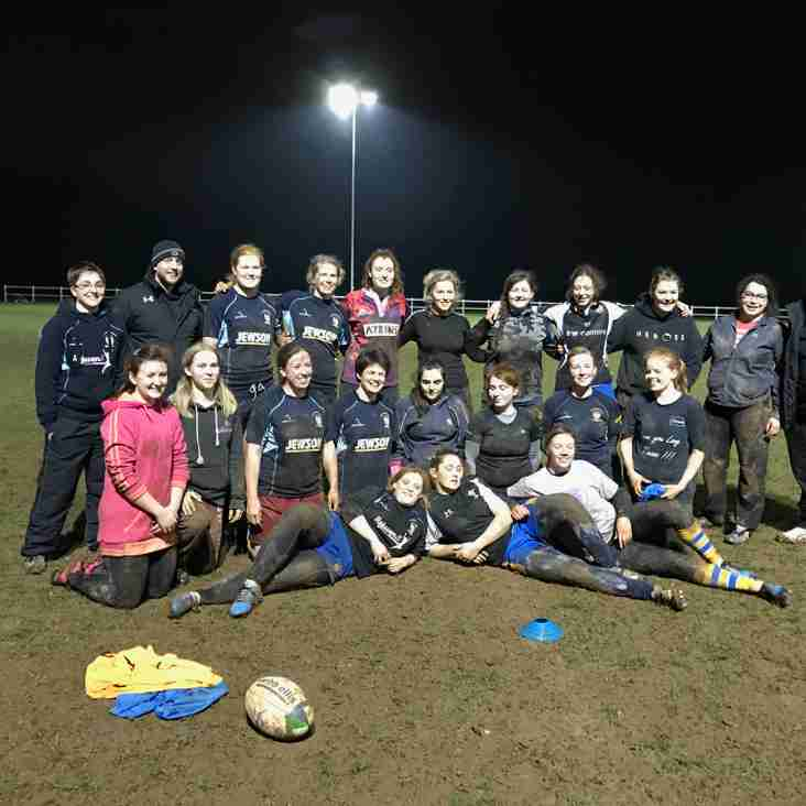 Wasp add an extra sting  to women rugby inner warrior training session