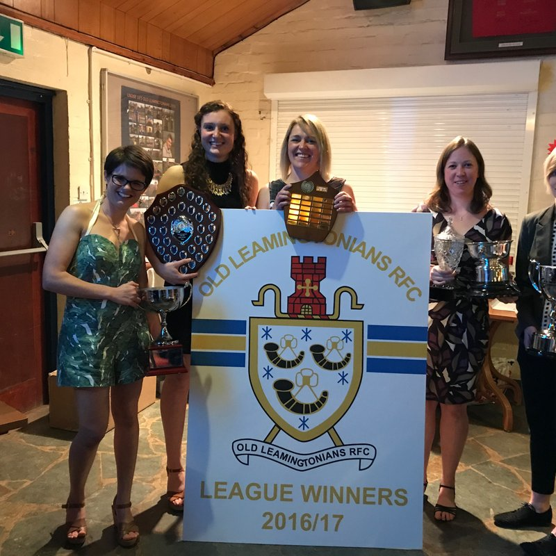 OLS ladies win the league and have 9 players called up to represent Warwickshire