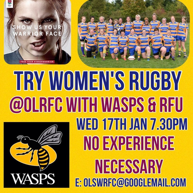 We have a sting in our inner warrior camp! Ladies now's the time to try rugby.