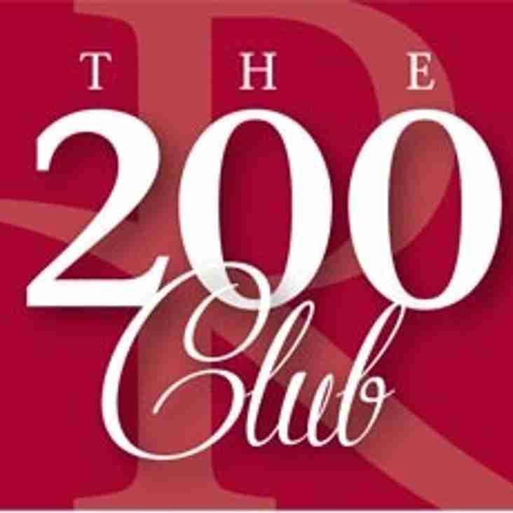 200 Draw club winners