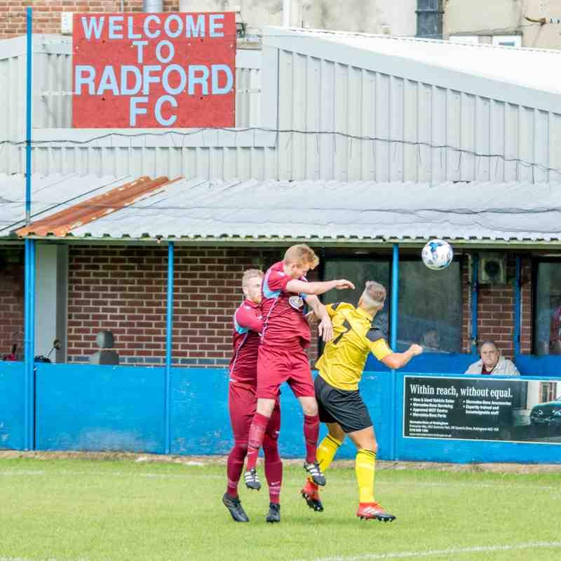 Radford 1-1 Stapenhill