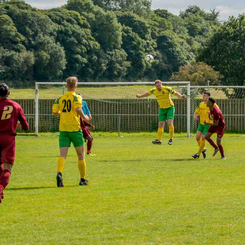 Arnold Town 2-0 Radford