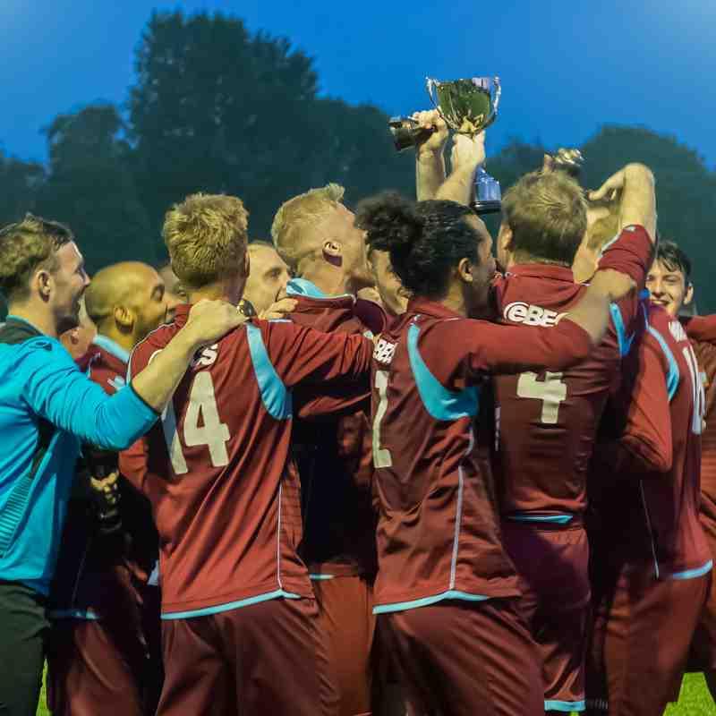 League Cup Final Radford v Anstey Nomads