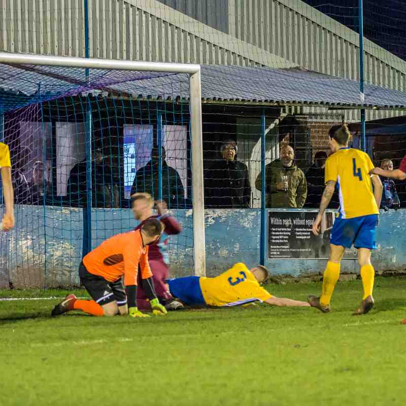 Radford vs Sherwood Colliery 12/1/19