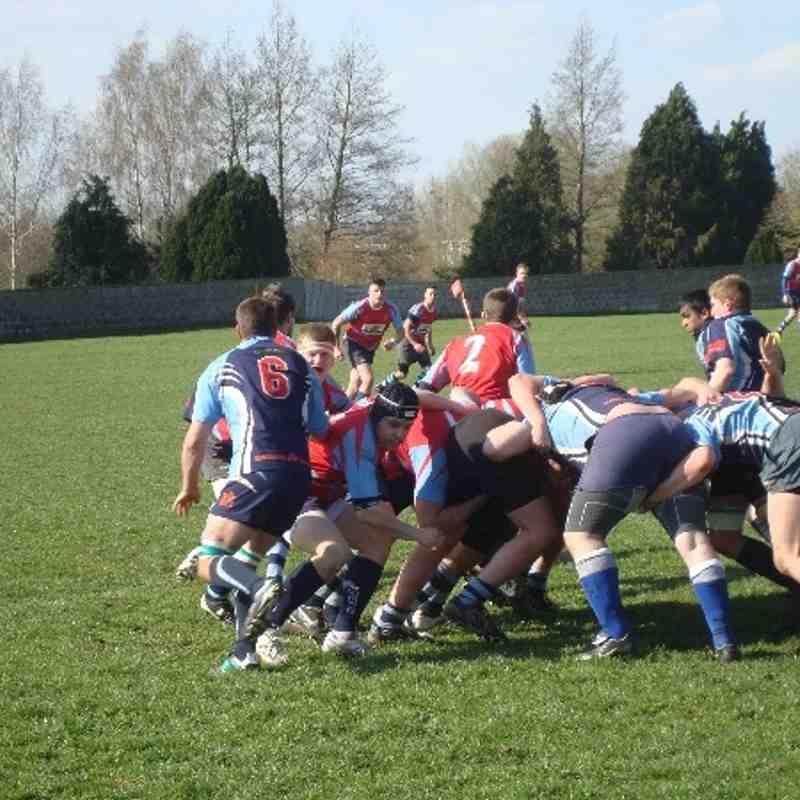 Melksham 3rds v Supermarine win 20-19