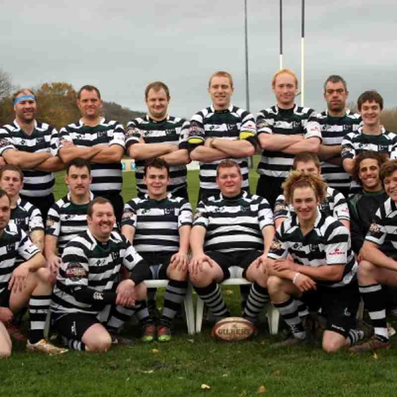 2nd XV Team Photo 26 Nov 2011