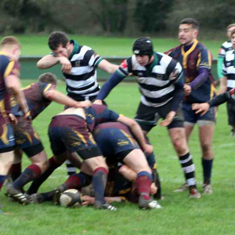 1st XV v Clee Hill  Cup  28/11/15