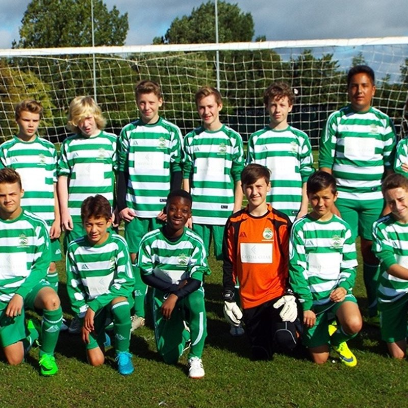 U16 Tigers lose to Tattenhoe Youth U16 Jaguars 3 - 1