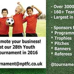 28th Annual Youth Tournament Sponsors REQUIRED
