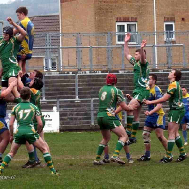 Youth (Golds) v Caerphilly 31-Mar-12