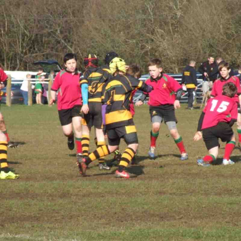 U12 - Dunvant RFC vs Pontarddulais RFC 17th Feb 2013