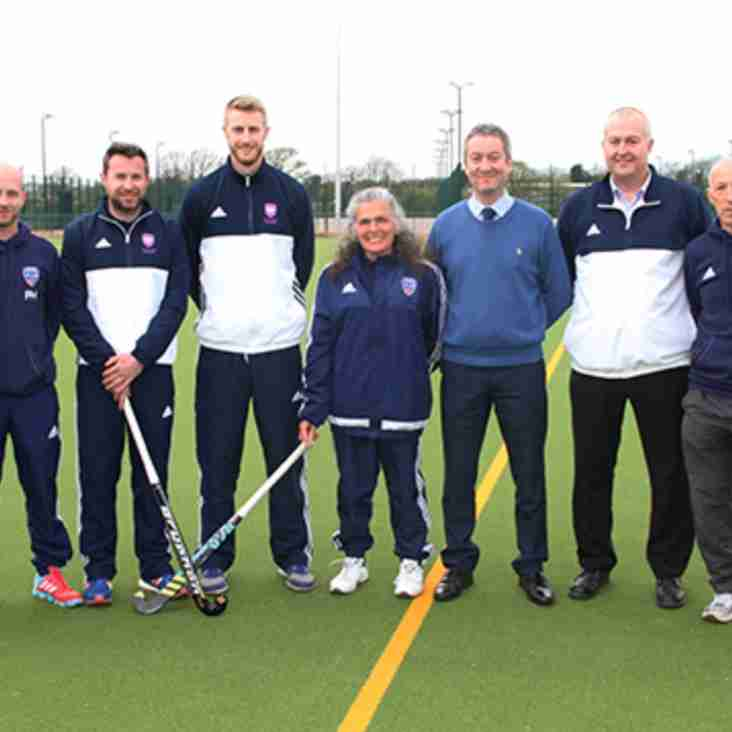 Talented young players from the area now train at Fylde Hockey Club!