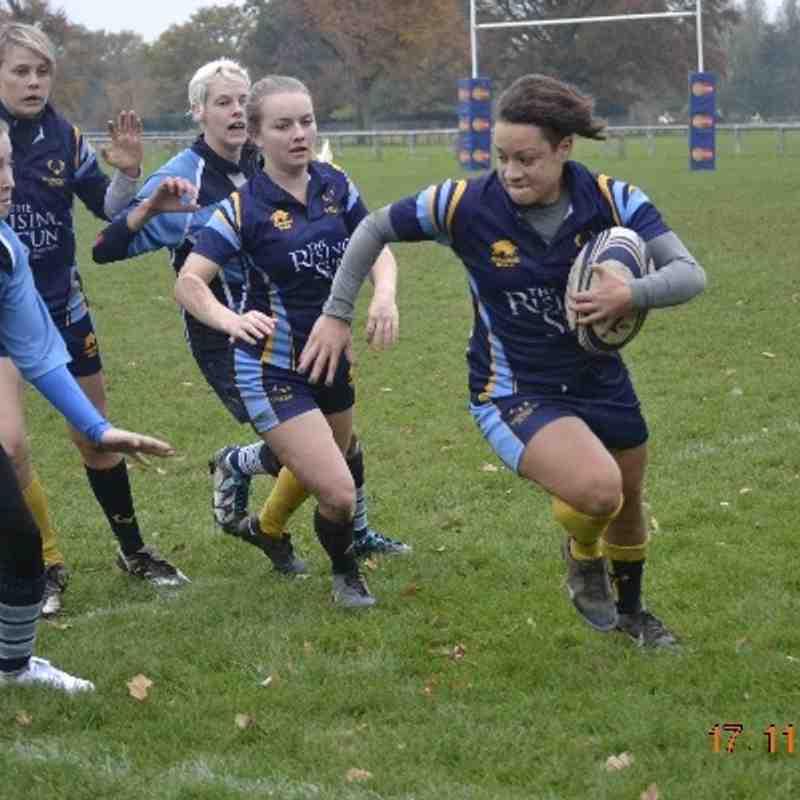 Teddington Ladies v Newbury Ladies (H)
