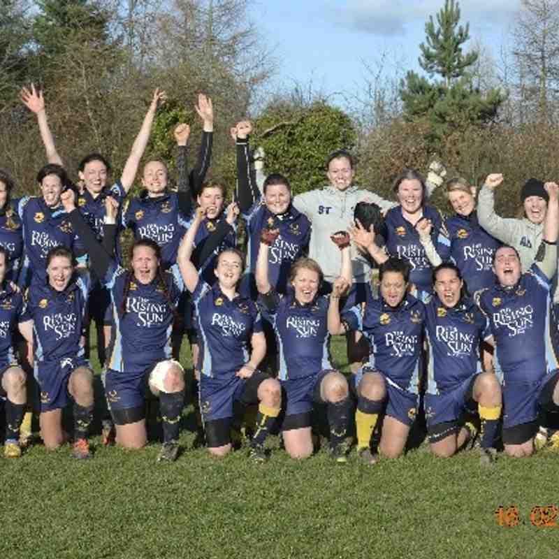 Teddington Ladies v Old Leamingtonians Cup Quarter Final
