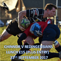 REDINGENSIANS LUNCH 23RD  SEPT