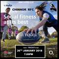 o2 Touch starts at CHINNOR!!