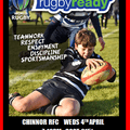 RUGBY READY COURSE  WEDS 4TH APRIL