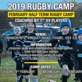 Chinnor RFC February Half Term Camp (19/20/21 Feb)