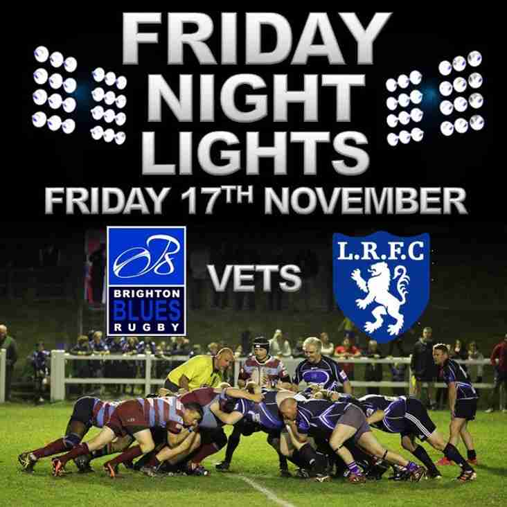 Brighton v Lewes Vets Rugby
