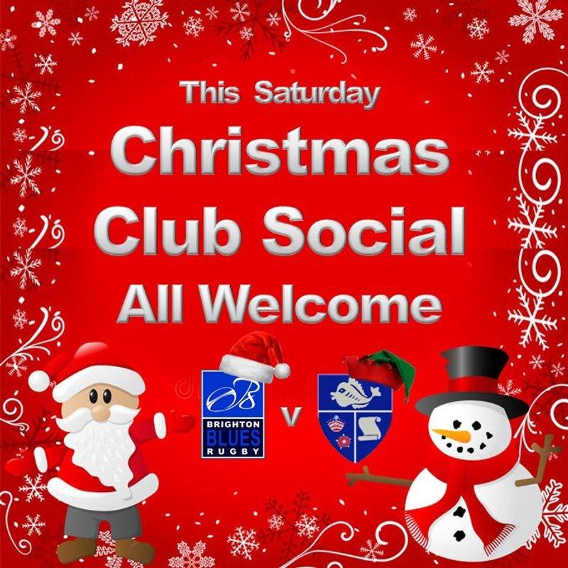 Christmas Social This Saturday
