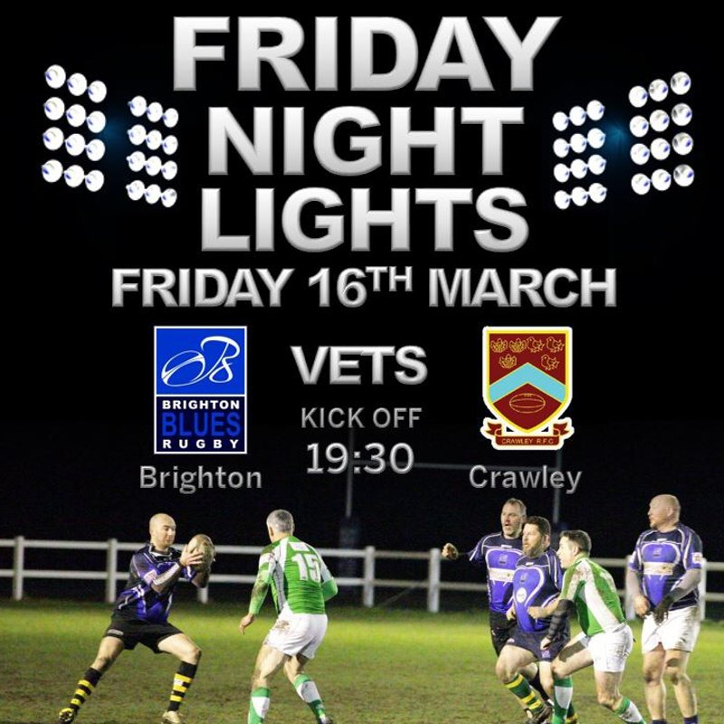 Vets Rugby Returns 16th March