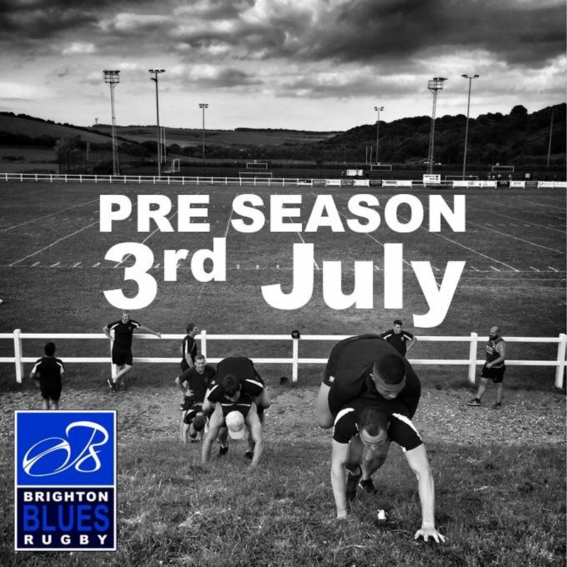 Pre Season Training 3rd July
