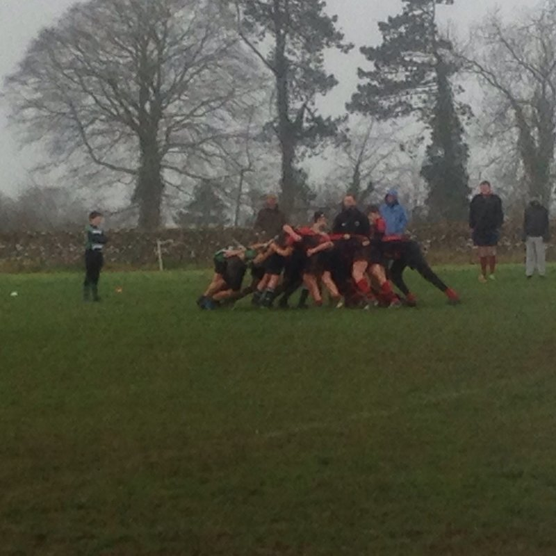 Minch U13 County Cup win against Cheltenham Tigers 30-20