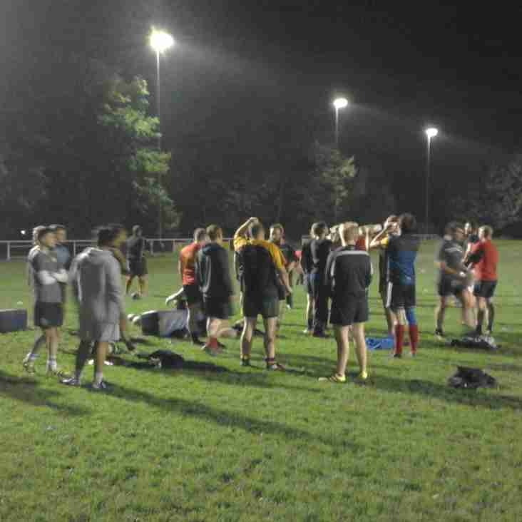 Joint Colts/Seniors Training Session.
