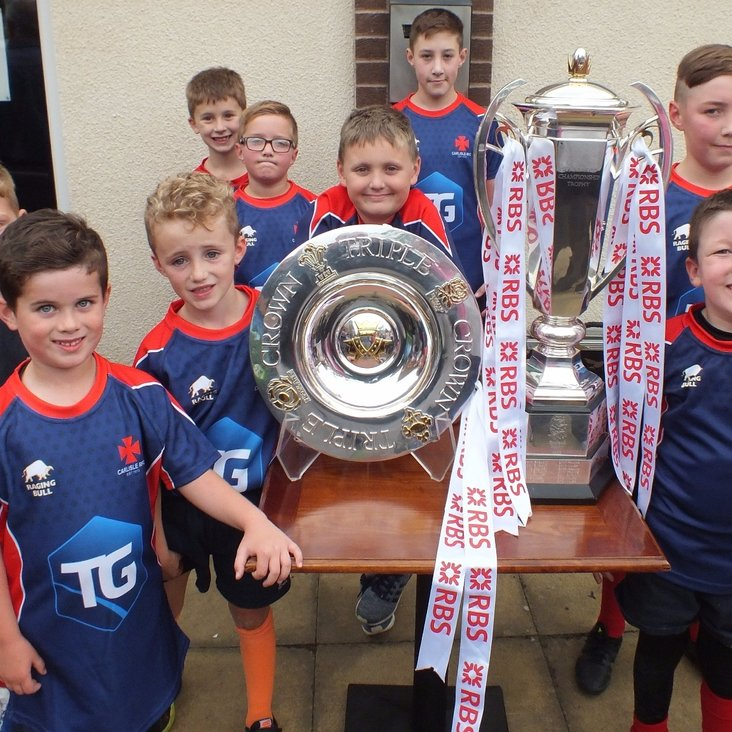 Six Nations Trophy and Triple Crown at the Club<