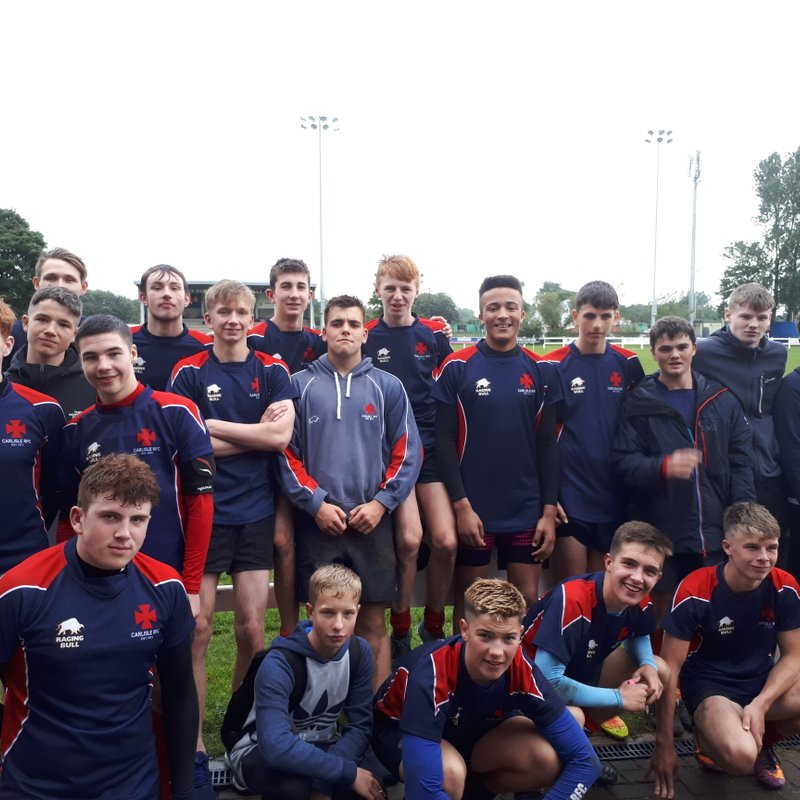 Match report Under 16s @ Percy Park Festival 17th September