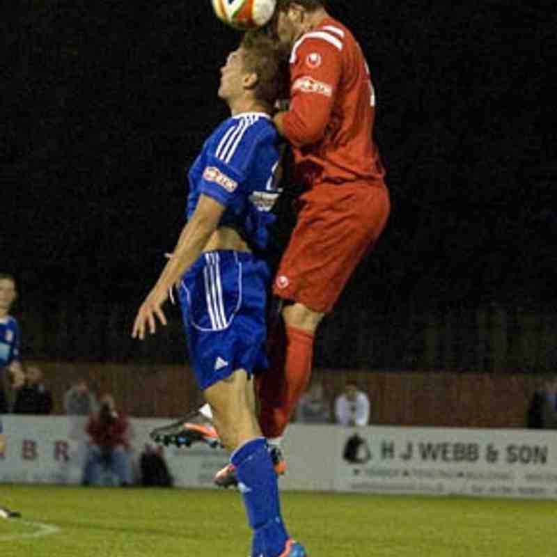 Swindon Supermarine 1-0 Hungerford Town Sept 5th 2012