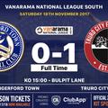 A fourth succesive 1-0 league defeat