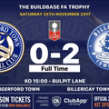 Billericay end The Crusaders Trophy hopes