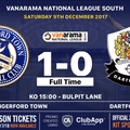 Louie Soares ends the poor run of home form