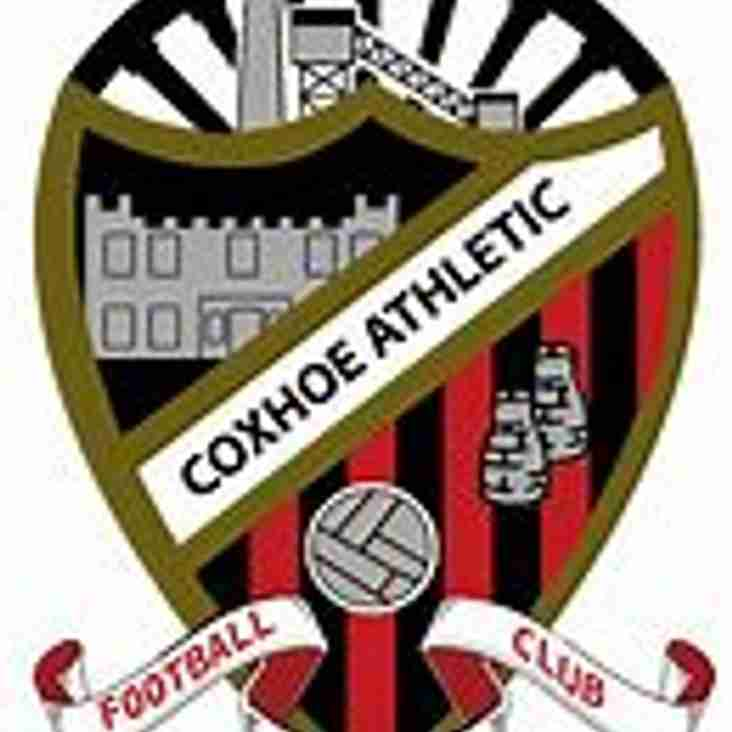 Coxhoe Athletic FC v Harton & Westoe FC