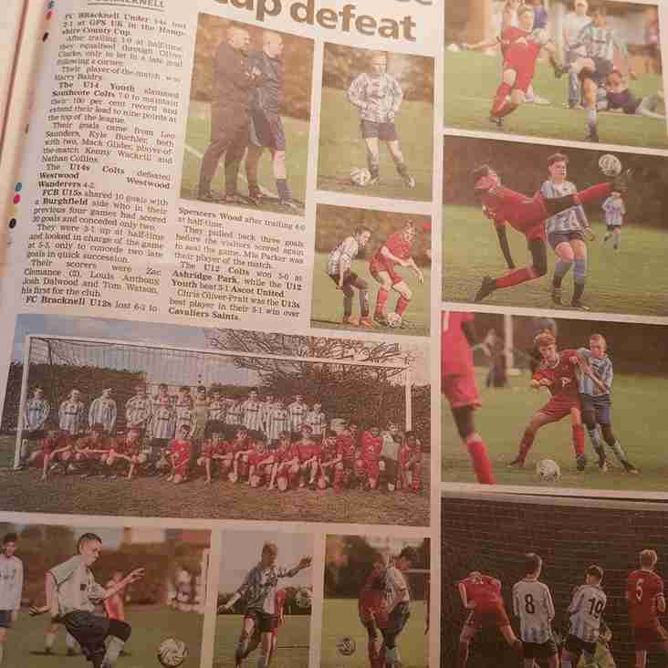 FC Bracknell match reports in this Bracknell News papers