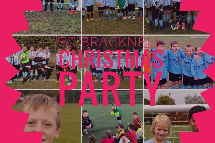 SOLD OUT!!! FC Bracknell Children Fancy Dress and Xmas Jumper Christmas Party
