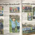 FC Bracknell kick off 2019 with a double page in the Bracknell News
