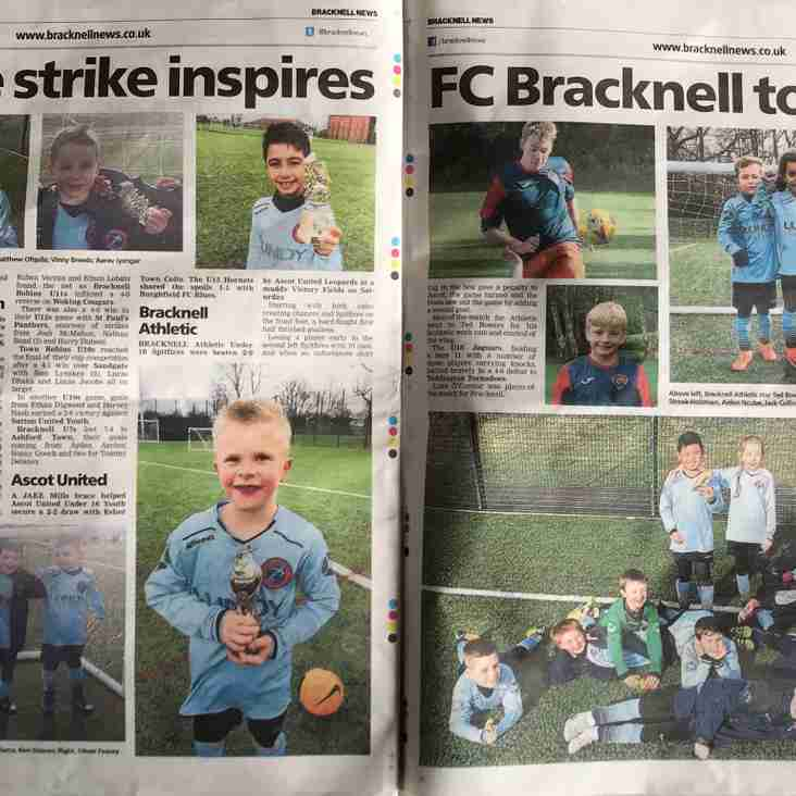 Pick up your Bracknell News copy today