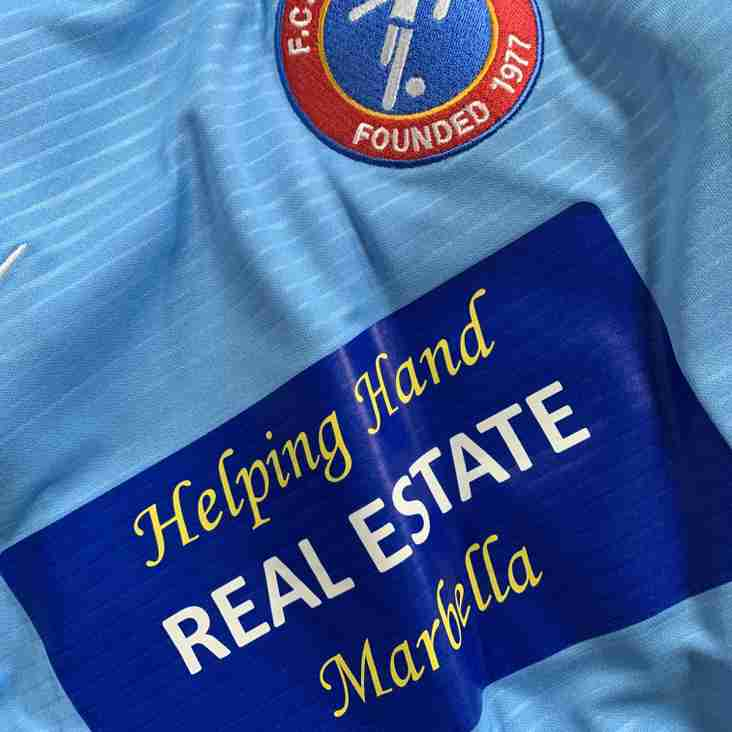 Helping Hands Real Estate Marbella Continues to Sponsor our U09's