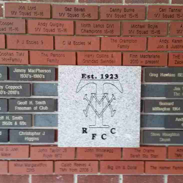 Another Brick in the (MV) Wall ... You Can Still Be Part Of It